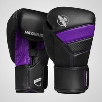 T3 Boxing Gloves Black/Purple