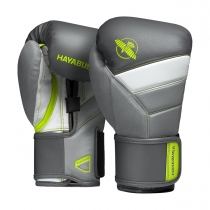 T3 Boxing Gloves Charcoal/Lime
