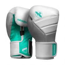 T3 Boxing Gloves  White/Teal